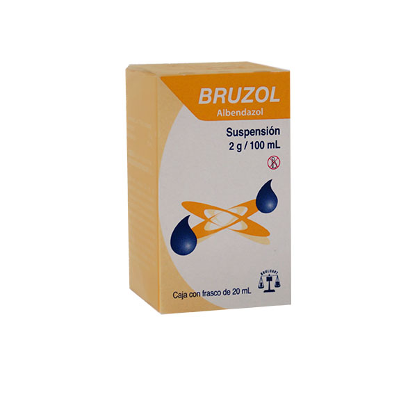bruzol albendazol 200 mg para que sirve